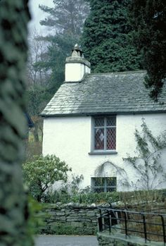 Wordsworth occupied Dove Cottage, with his sister Dorothy and wife Mary. Grasmere, Lake District, Cumbria, England, UK