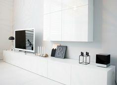 Valkoinen Koti: Olohuone