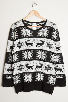 Black and white fairisle anyone?