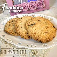 Çikolatalı Cevizli Cookie