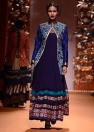 Blue IndiAN Designer Outfits