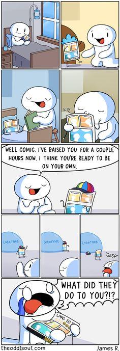 Theodd1sout :: MY CHILD!  | Tapastic Comics - image 1