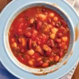 . New England-Style Baked Beans , this filling bean dish is simple to prepare; all it takes is time. 6 hours of cooking yields thick, rich results. Serve it with hearty brown bread to mop up its flavorful sauce. This recipe first appeared in our March 2012 issue, with Gabriella Gershenson's article Full of Beans. | SAVEUR