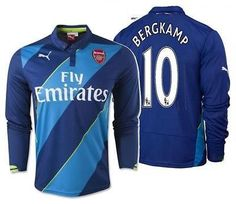c5b07a13a Puma dennis bergkamp arsenal long sleeve third jersey 2014 15. PUMA DENNIS  BERGKAMP ARSENAL LONG SLEEVE THIRD JERSEY 2014 15 methyl blue-estate ...
