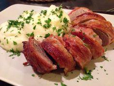 Baconben sült sertésszűz Gm&Lm – GastroHobbi