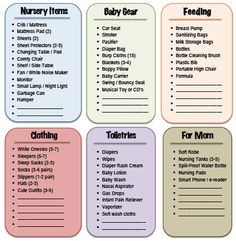 Raising an Infant on a Budget: Recap & FREE Printable « Simple Organized Living