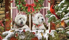 West Highland Terrier - Christmas Company