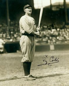 ty cobb replica signed photo from $4.0