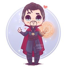 Dr Stephen Strange ✨✨ he's definitely in my top favourite characters in the MCU I do love how snarky he is :3 Oh what's your favourite…