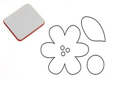 New Sizzix Sizzlits FLOWER CENTER & LEAF by SparkYourImagination