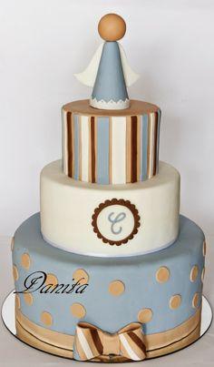 Torta prima comunione http://leleccorniedidanita.blogspot.it/2014/05/torta-comunione-per-cristian.html