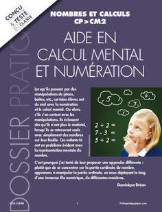 POur des élèves en difficulté, voici une méthode qui utilise la fonction ordinale pour aborder la numération.