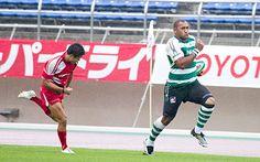 NEC Green Rockets beat NTT docomo Red Hurricanes.