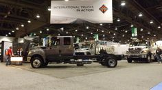 The International TerraStar 4x4, on display at The World of Concrete in 2013.