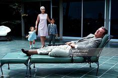 John Wayne At Home With Family At Newport : News Photo