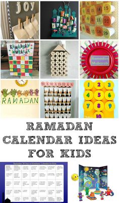 DIY Advent calendar ideas and Ramadan calendars to help kids feel excited during this special month