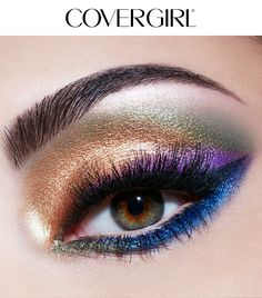 Create the Multi-tone Jewel look using COVERGIRL'S TruNaked Jewels Palette this holiday season! This beautiful gem-like eye look uses a spectrum of colors from the TruNaked Jewels Palette. This look is simple to create and perfect for any Christmas or Hanukkah party this winter. Complete this look with So Lashy! Mascara and Intensify Me! Liner.