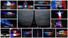 Photos: Iconic buildings worldwide light up in French Flag pattern after Paris attacks   fox13now.com