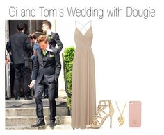 """Gi and Tom's Wedding with Dougie"" by xkidinthedarkx ❤ liked on Polyvore featuring Jane Norman, Sergio Rossi, Sonal Bhaskaran, Tory Burch, wedding, mcfly, dougiepoynter and TomFletcher"