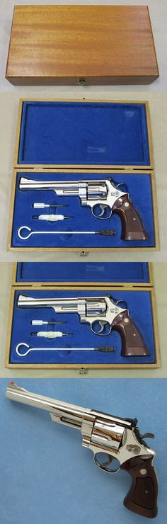 // That's one helluva nice pistol! Smith And Wesson Revolvers, Smith Wesson, Rifles, Fire Powers, Cool Guns, Guns And Ammo, Self Defense, Shotgun, 44 Magnum