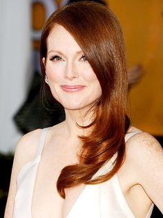 With her fair skin, Moore's freckles are hard to miss – something the actress has come to accept with age, ...
