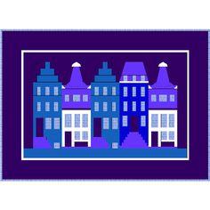 Quiltplaza Shop :: Designer Download Patterns (Engelstalig) :: Maaike Bakker :: Canal houses