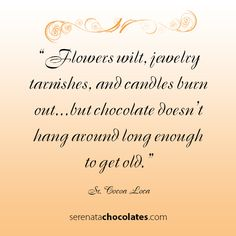 Chocolate never is around for long...#mrscavanaughs #chocolate #quote