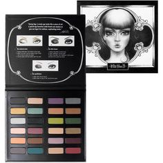 Kat Von D Spellbinding Eye Shadow Book ($55) found on Polyvore