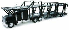 NewRay Freightliner Classic XL Car Carrier 1:32 diecast transporter Black N362 #NewRay #Freighliner