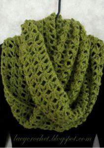 Mossy Infinity Scarf   AllFreeCrochet.com Poncho Tricot, Foulard Tricot,  Echarpe Crochet, 8620d04599b
