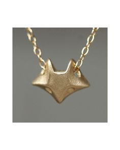 Michelle Chang fox necklace