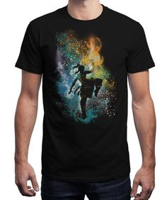 """Dancing with the Elements"" is today's £8/€10/$12 tee for 24 hours only on www.Qwertee.com Pin this for a chance to win a FREE TEE this weekend. Follow us on pinterest.com/qwertee for a second! Thanks:)"