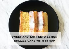 While there's no denying that chocolate isreallyawesome, sometimes it's nice tomix things up when it comes to desserts. This fresh and tangy tasting keto lemon drizzle cake is a low-…