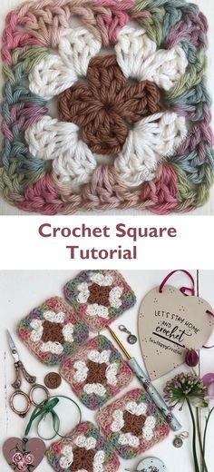 Classic Granny Square – Easy tutorial – Design Peak Classic Granny Square – Easy tutorial – Design Peak Informations About Crochet bebes Pin You can. Crochet Flower Squares, Granny Square Crochet Pattern, Crochet Granny, Crochet Motif, Diy Crochet, Crochet Crafts, Crochet Flowers, Crochet Projects, Crochet Shawl