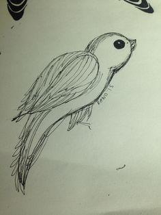 Bad birdie 100th Day, Dream Catcher, Tattoos, Drawings, Art, Craft Art, Dreamcatchers, Dream Catchers, Tattoo