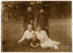 Familie aus Insterburg. Foto 1916