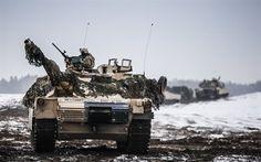 Scarica sfondi M1 Abrams, carro armato Americano, moderni veicoli blindati, gamma, US Army