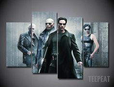 The Matrix 5 Piece Canvas LIMITED EDITION - The Nerd Cave