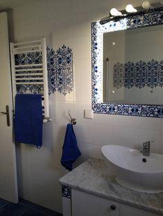 faience zellige salle de bain maroc décoration orientale | new home ...