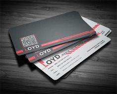 Black White Business Card by Calwin (via Creattica)