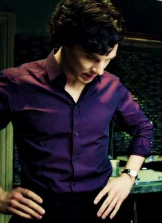 *Sigh* The shirt, the hair, the hands on the hips all make me incredibly weak in the knees.