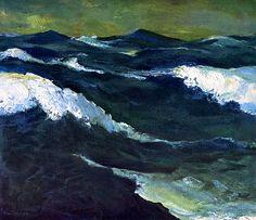 bofransson:  Sea III Emile Nolde - 1913