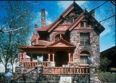 Molly Brown house in Denver, CO. They say it is haunted....