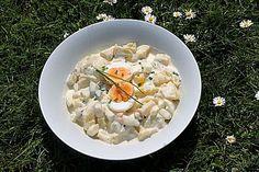 Würziger Kartoffelsalat mit Joghurt - Mayonnaise - Dressing