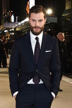 """(Last year no 3)""""What I like about Jamie Dornan is more related to his attitude, rather than the actual dress code. He's good at dressing down while dressing up...he's effortless and masculine."""" Neil Barrett, designer.GQ says: The star of Fifty Shades Darker made his name modelling Calvin Klein underwear but now looks a lot better wearing a lot more."""