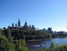 The one that got away: Parliament Hill in Ottawa.