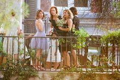 Sofia Coppola Italian Wedding, lavender wedding dress!