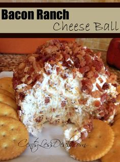 Yeah, had to pin this one. Bacon Ranch Cheese Ball