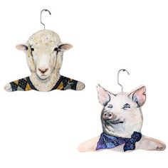 Farm Animal Set Of 2, $19, now featured on Fab.