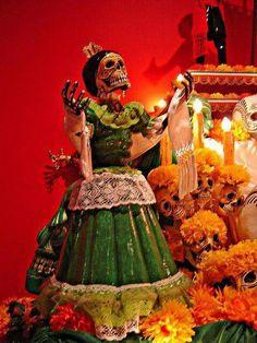 Oaxaca mexico catrina oaxaca